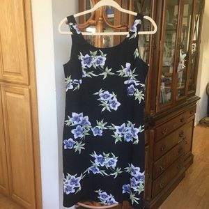 Tommy Bahama 100% Silk Floral Dress. Size10z